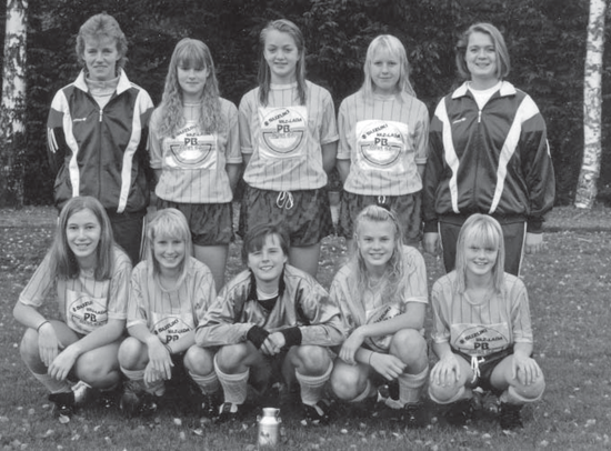 IF Norvallas F 14-lag 1993.