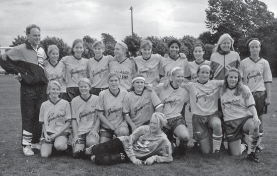 IF Norvallas F 16-lag 1994.