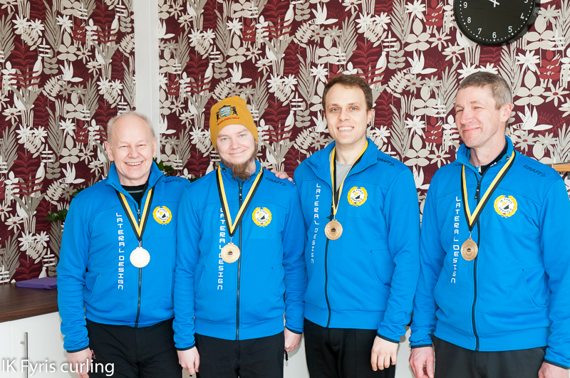 Lag Andersson guld KM lag 2015