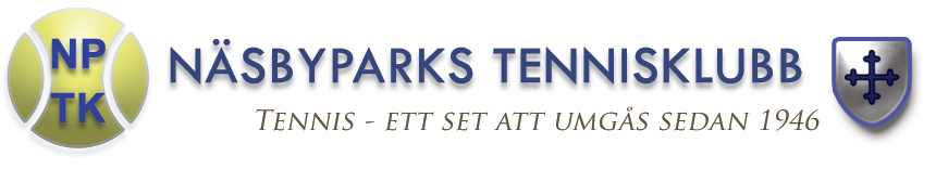 Näsby Parkts Tennisklubb logo