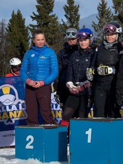 Olivia Anderssons lag fick silver i GS.