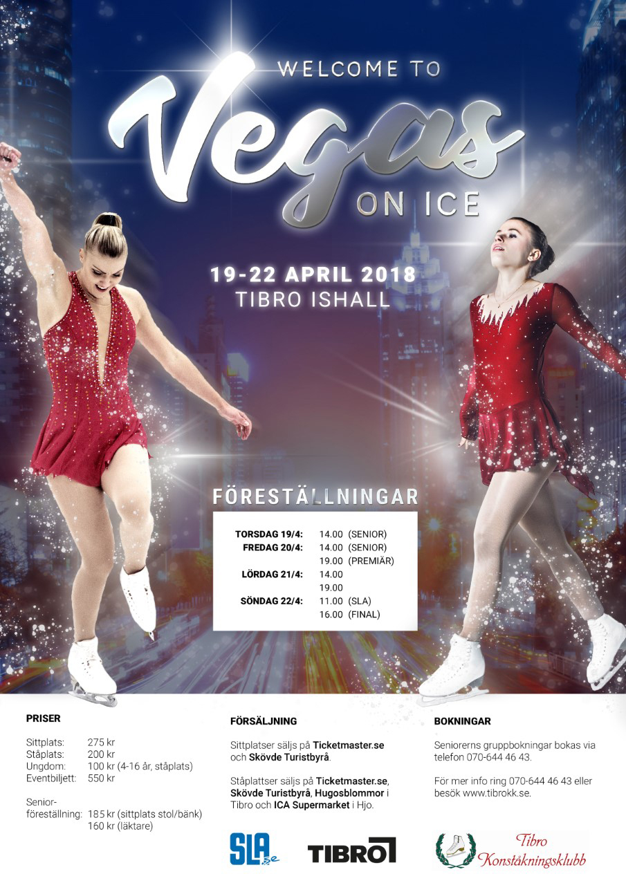 Vegas on Ice 19-22 april 2018